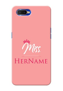 Oppo K1 Custom Phone Case Mrs with Name