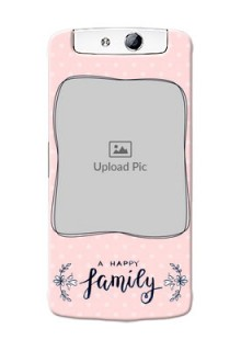 Oppo N1 A happy family with polka dots Design