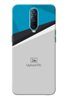 Oppo R17 Pro Back Covers: Simple Pattern Photo Upload Design