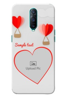Oppo R17 Pro Phone Covers: Parachute Love Design