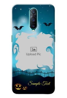 Oppo R17 Pro Personalised Phone Cases: Halloween frame design