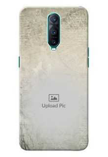 Oppo R17 Pro custom mobile back covers with vintage design