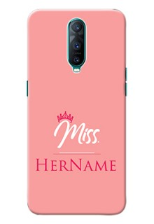 Oppo R17 Pro Custom Phone Case Mrs with Name