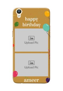 Oppo R9 2 image holder with birthday celebrations Design