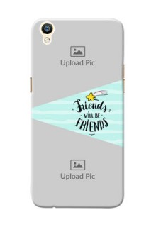 Oppo R9 2 image holder with friends icon Design