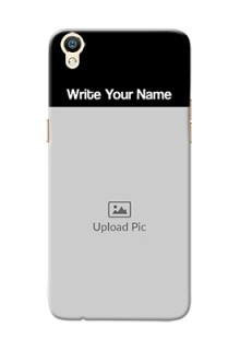 Oppo R9 Photo with Name on Phone Case