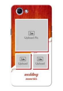 Oppo Realme 1 Wedding Memories Mobile Cover Design