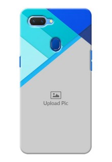 Realme 2 Phone Cases Online: Blue Abstract Cover Design