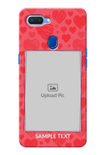 Realme 2 Mobile Back Covers: with Red Heart Symbols Design