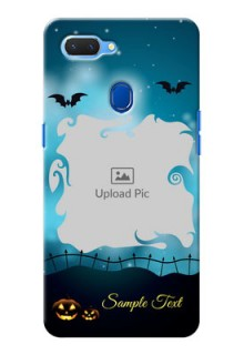 Realme 2 Personalised Phone Cases: Halloween frame design