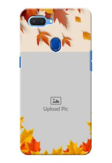 Realme 2 Mobile Phone Cases: Autumn Maple Leaves Design