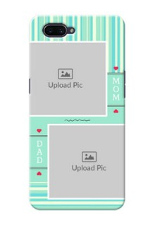 Realme C1 custom mobile phone covers: Mom & Dad Pic Design