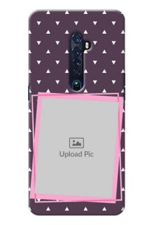 Oppo Reno 2 Phone Cases: Triangle Pattern Dotted Design