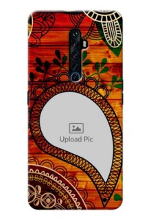 Reno 2Z custom mobile cases: Abstract Colorful Design