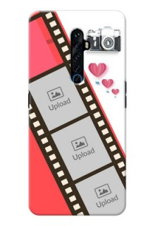 Reno 2Z custom phone covers: 3 Image Holder with Film Reel
