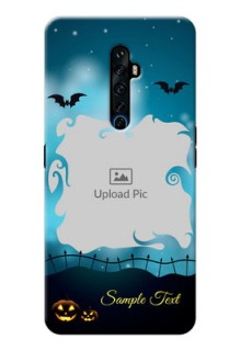 Reno 2Z Personalised Phone Cases: Halloween frame design