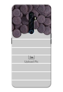 Reno 2Z Custom Mobile Covers with Oreo Biscuit Design