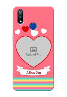 Realme 3 Pro Personalised mobile covers: Love Doodle Design