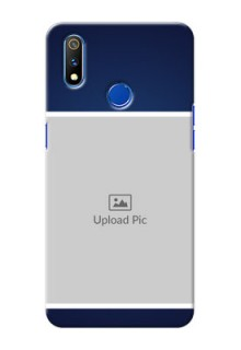 Realme 3 Pro Mobile Cases: Simple Royal Blue Design