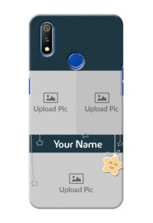 Realme 3 Pro Mobile Back Covers Online: Hanging Stars Design