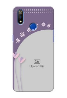 Realme 3 Pro Phone covers for girls: lavender flowers design