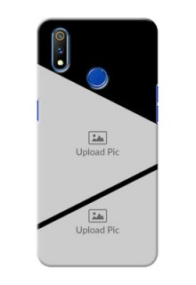 Realme 3 Pro mobile back covers online: Semi Cut Design