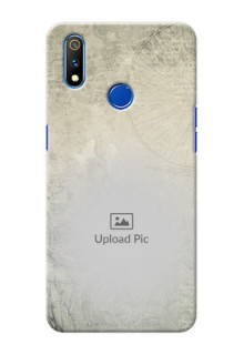 Realme 3 Pro custom mobile back covers with vintage design