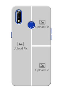 Realme 3 Custom Mobile Cover: Upload Multiple Picture Design