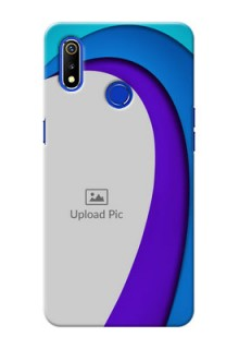 Realme 3 custom back covers: Simple Pattern Design