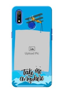 Realme 3 custom mobile phone cases: Traveller Design
