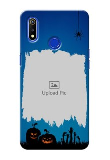 Realme 3 mobile cases online with pro Halloween design
