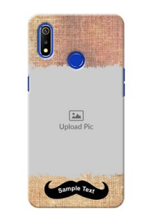 Realme 3 Mobile Back Covers Online with Texture Design