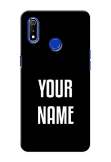 Realme 3 Your Name on Phone Case