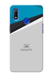 Realme 3i Back Covers: Simple Pattern Photo Upload Design