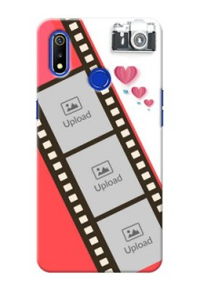 Realme 3i custom phone covers: 3 Image Holder with Film Reel