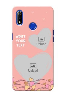 Realme 3i customized phone cases: Love Doodle Design