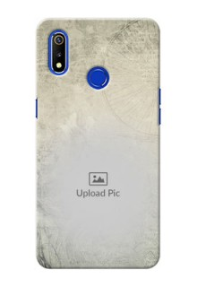 Realme 3i custom mobile back covers with vintage design