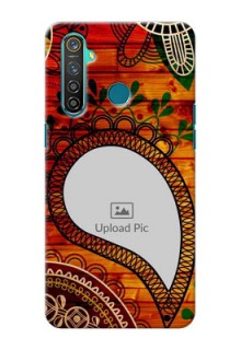 Realme 5 Pro custom mobile cases: Abstract Colorful Design