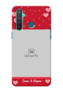 Realme 5 Pro Mobile Back Covers: Valentines Day Design