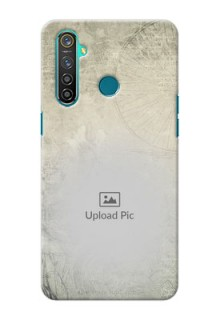 Realme 5 Pro custom mobile back covers with vintage design