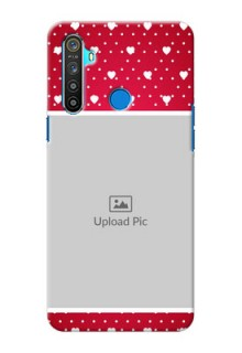 Realme 5 custom back covers: Hearts Mobile Case Design