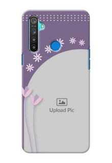 Realme 5 Phone covers for girls: lavender flowers design