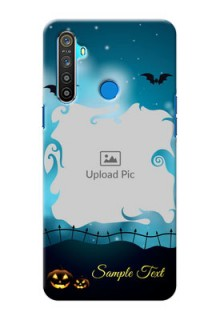 Realme 5 Personalised Phone Cases: Halloween frame design