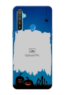 Realme 5 mobile cases online with pro Halloween design