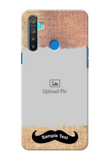 Realme 5 Mobile Back Covers Online with Texture Design