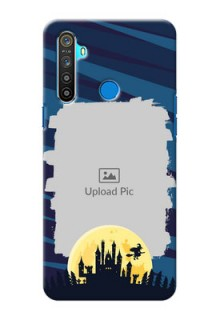 Realme 5 Back Covers: Halloween Witch Design
