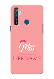 Realme 5 Custom Phone Case Mrs with Name