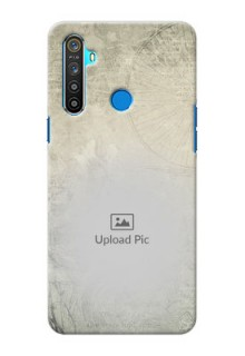 Realme 5S custom mobile back covers with vintage design