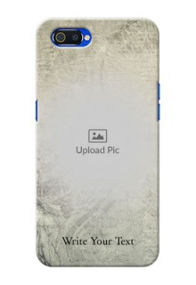 Realme C2 custom mobile back covers with vintage design