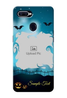 Realme U1 Personalised Phone Cases: Halloween frame design